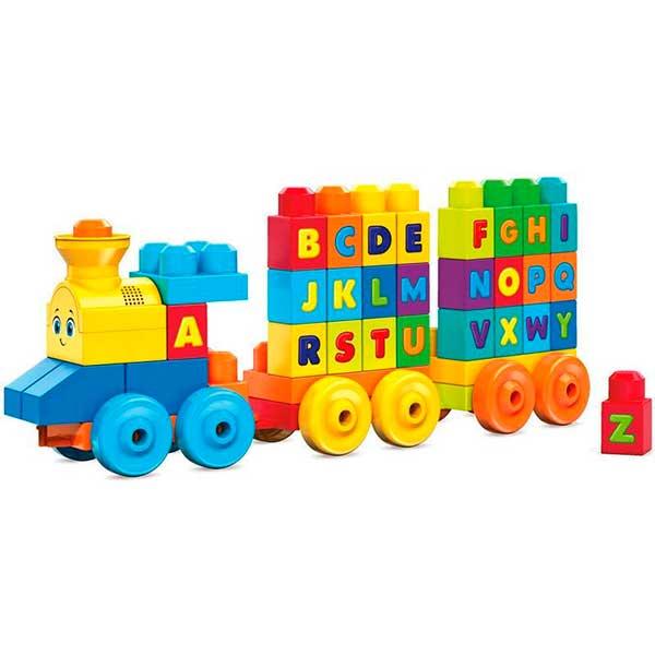 Fisher Price Tren Musical ABC Infantil Mega Bloks - Imagen 1