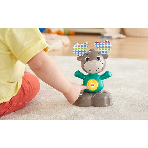 Fisher Price Linkimals Mascota Alce - Imagen 2