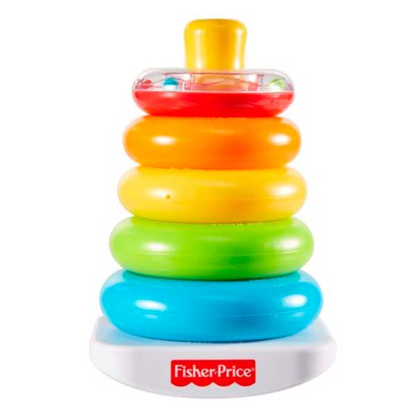 Fisher Price Piramide Anillas Balanceos - Imagen 1