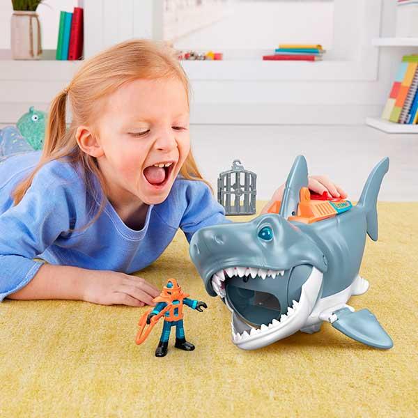 Imaginext Tiburón Megamandíbulas - Imagen 1