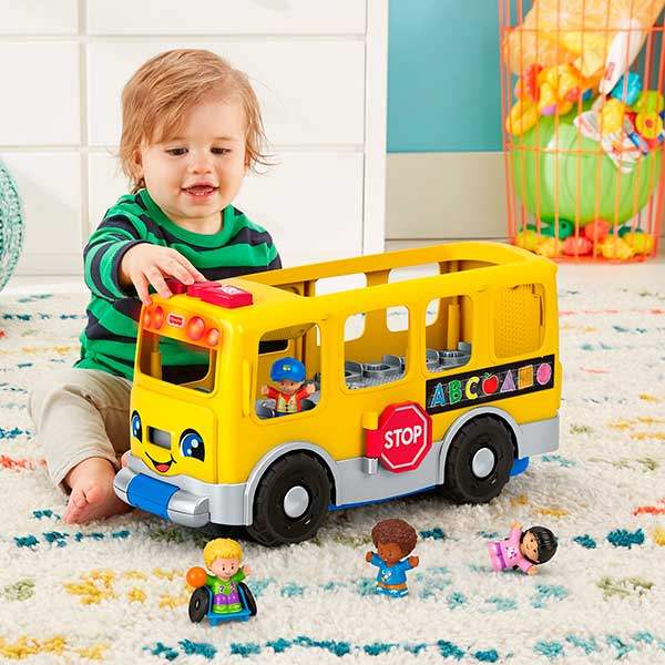Little People Autobús Escolar Grande - Imagen 4