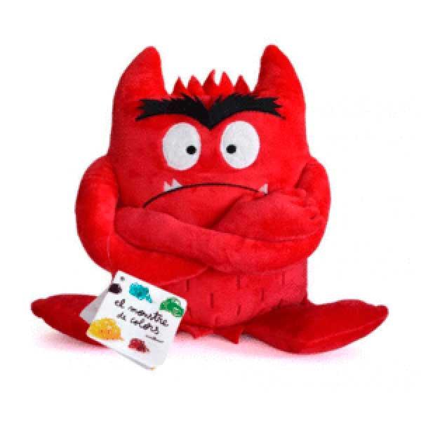 Peluix Monstre de Colors Vermell - Imatge 1