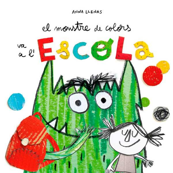 Libro Monstre de Colors va a l'Escola