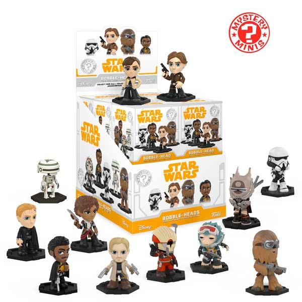 Mini Figura Funko Mystery Sorpresa Han Solo Star Wars