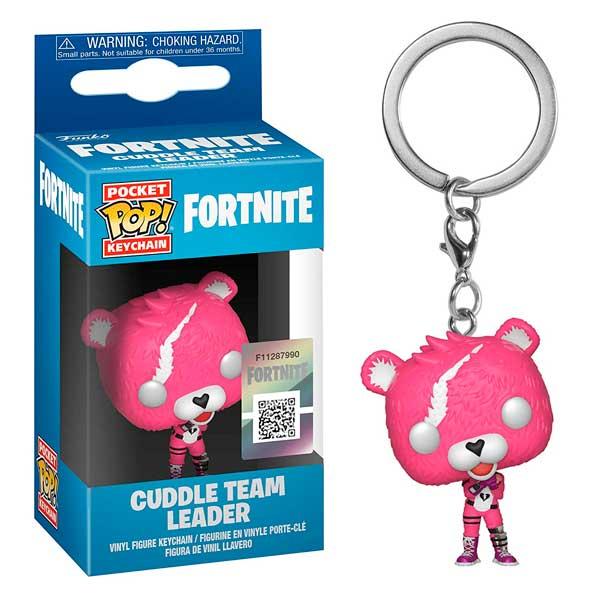 Llavero Figura Funko Pop! Cuddle Team Leader Fortnite