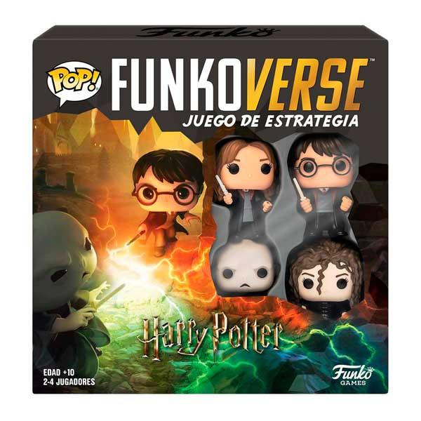 Harry Potter Funkoverse Pop! Jogo de Estratégia 4 Figuras