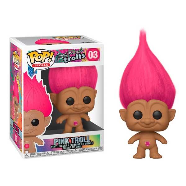 Figura Funko Pop! Pink Troll Good Luck Trolls 03
