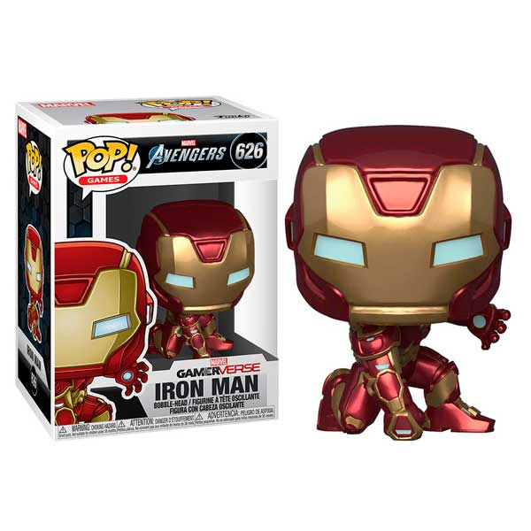 Figura Funko Pop! Homem de Ferro Gamerverse Marvel 626