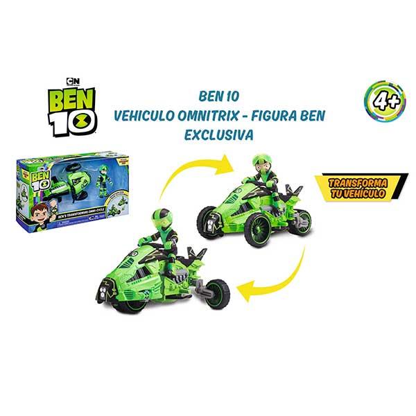 Ben 10 Vehiculo Omnitrix y Figura Exclusiva - Imagen 3