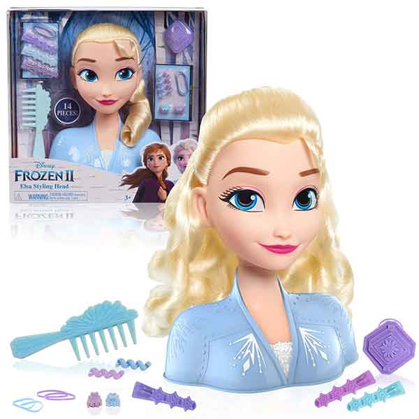Disney Frozen Elsa Busto Basic Peinados - Imagen 1