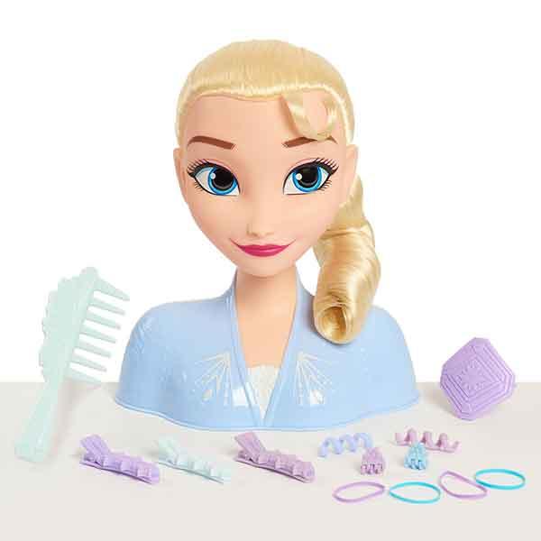Disney Frozen Elsa Busto Basic Peinados - Imagen 2