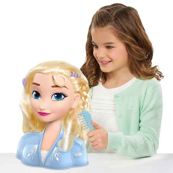 Disney Frozen Elsa Busto Basic Peinados - Imagen 3