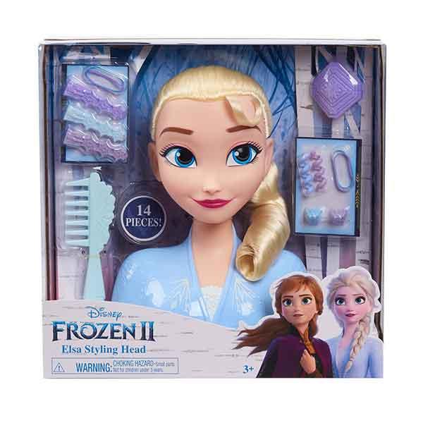 Disney Frozen Elsa Busto Basic Peinados - Imagen 4