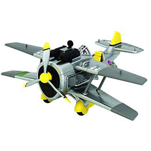 Fortnite Figura Ice King e Avião X-4 Stormwing 7cm
