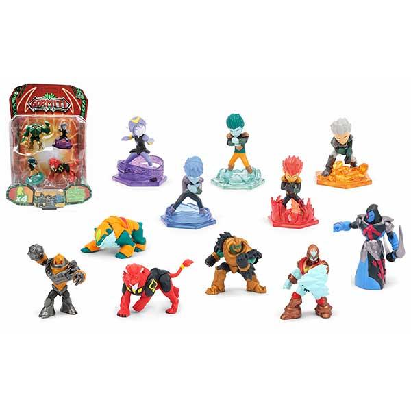 Gormiti Pack 4 Figuras 5cm - Imagen 1