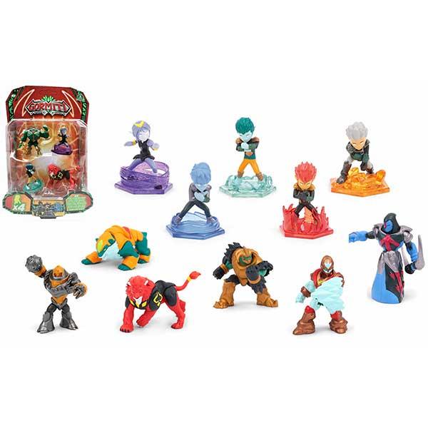 Gormiti Pack 4 Figuras 5cm - Imagen 5