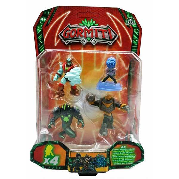 Gormiti Pack 4 Figuras 5cm - Imagen 6