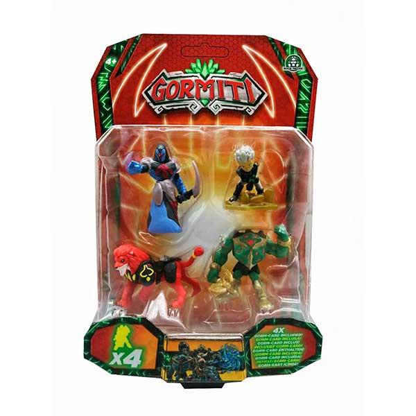 Gormiti Pack 4 Figuras 5cm - Imagen 9