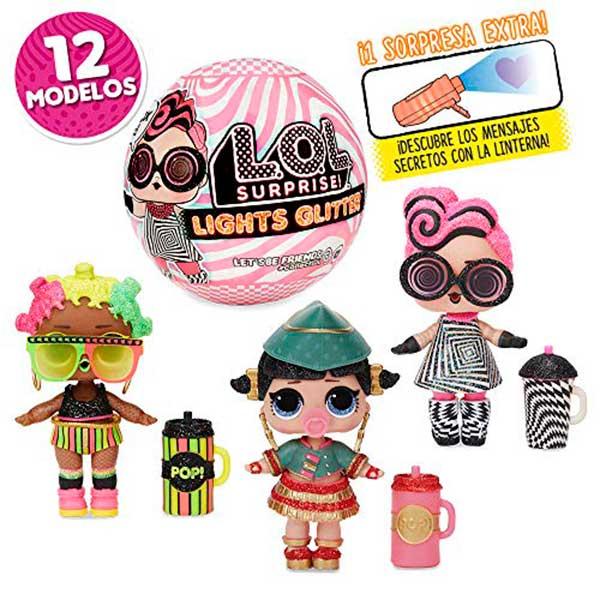 Muñeca LOL Surprise Lights Glitter S7 - Imagen 4