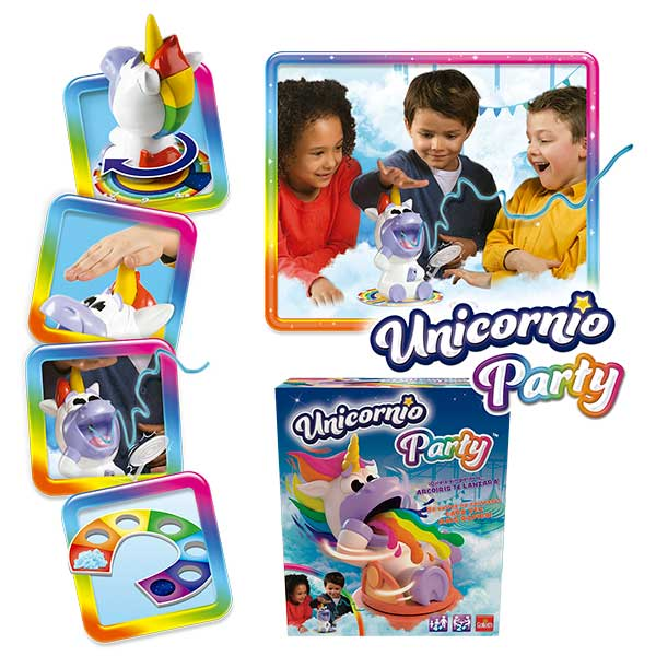 Juego Unicornio Party - Imagen 3
