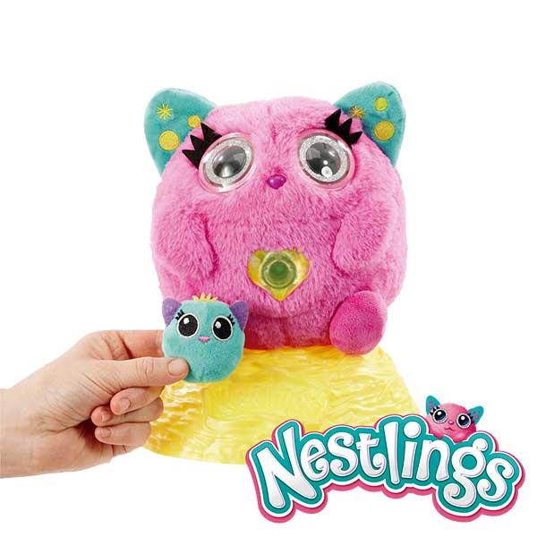 Mascota Nestlings Rosa Interactivo - Imagen 3