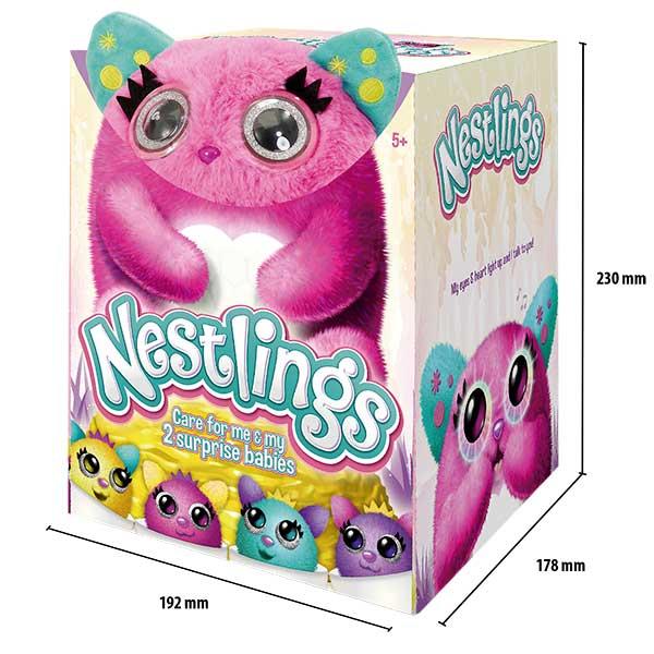 Mascota Nestlings Rosa Interactivo - Imagen 6