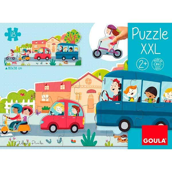 Goula Puzzle XXL Veículos