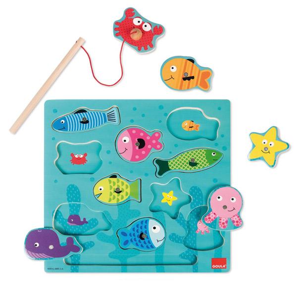 Goula Puzzle Pesca Magnética
