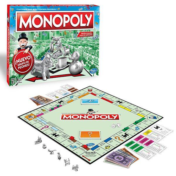 Juego Monopoly Barcelona