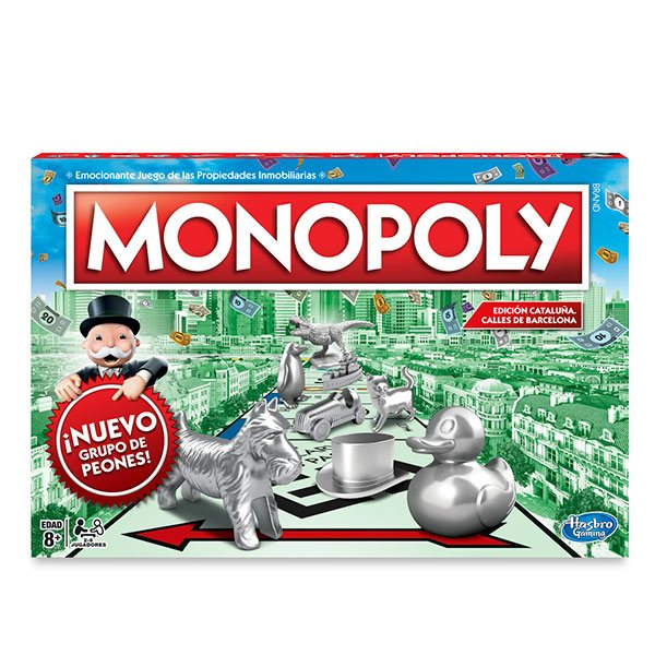 Juego Monopoly Barcelona - Imagen 2