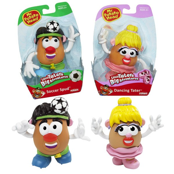 Playskool Figura Mr.Potato Oficios