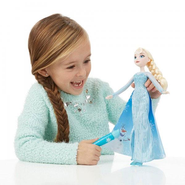 Elsa Capa Magica Frozen - Imatge 1