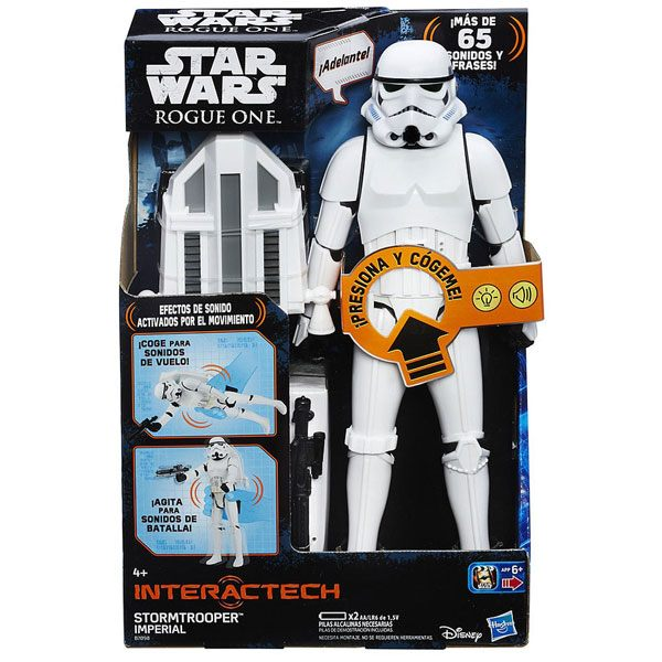Star Wars Figura Stormtrooper Imperial Rogue One 30cm