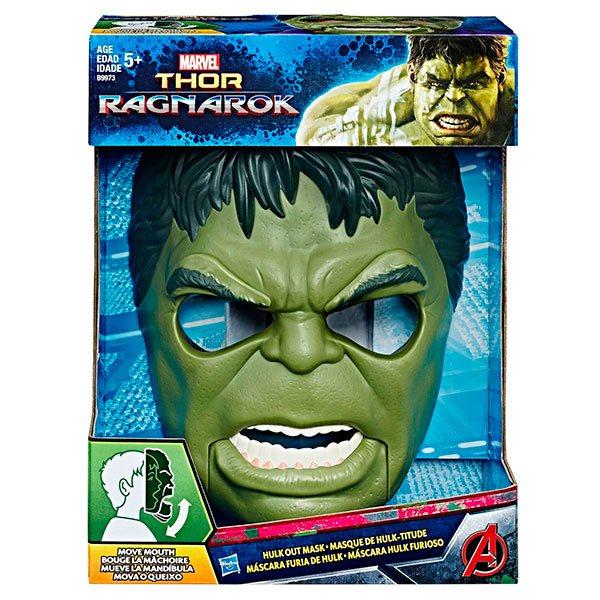 Mascara Furia de Hulk Thor Ragnarok