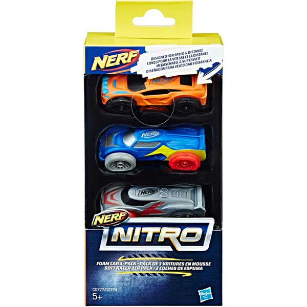 Pack 3 Coches Nerf Nitro #2