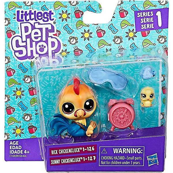 Pack Pareja Littlest Pet Shop: Gallo - Imagen 1