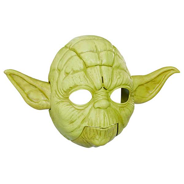 Máscara Electrónica Star Wars Yoda