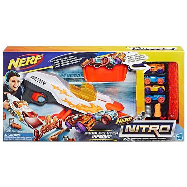 Nerf Nitro Doubleclutch Infierno - Imagen 1