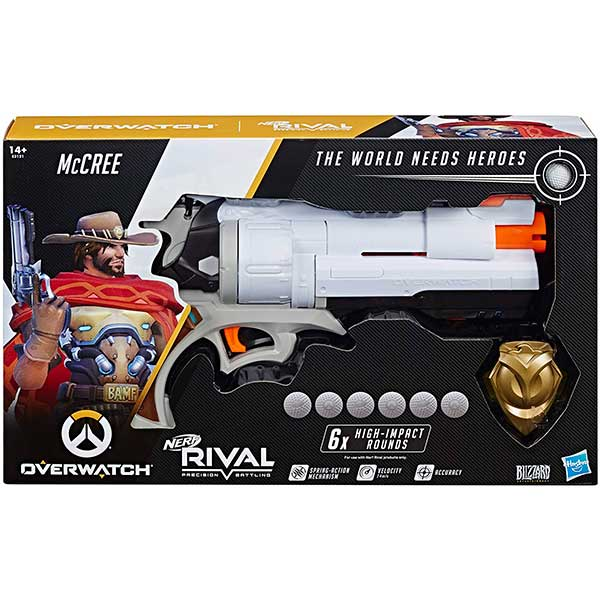 Nerf Rival Overwatch Bláster