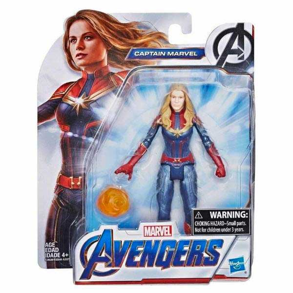 Marvel Figura Capitana Marvel 15cm - Imagen 1