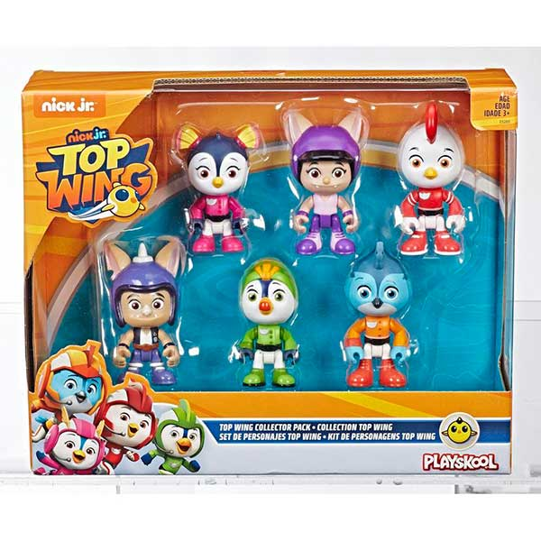 Top Wing Pack 6 Figuras 8cm