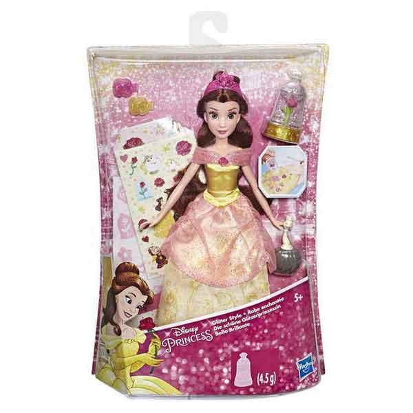 Disney Muñeca Princesa Bella Diseños Glitter