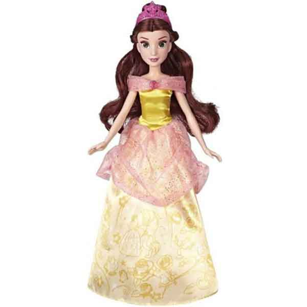 Disney Muñeca Princesa Bella Diseños Glitter - Imagen 1