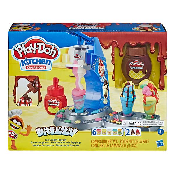 Plastilina Play-Doh Heladería Creativa - Imagen 1