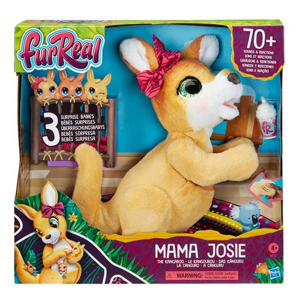 Furreal Mama Josy y sus Canguritos - Imagen 1
