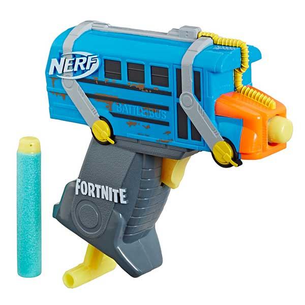 Llançador Nerf Microshots Fortnite Bus Combat