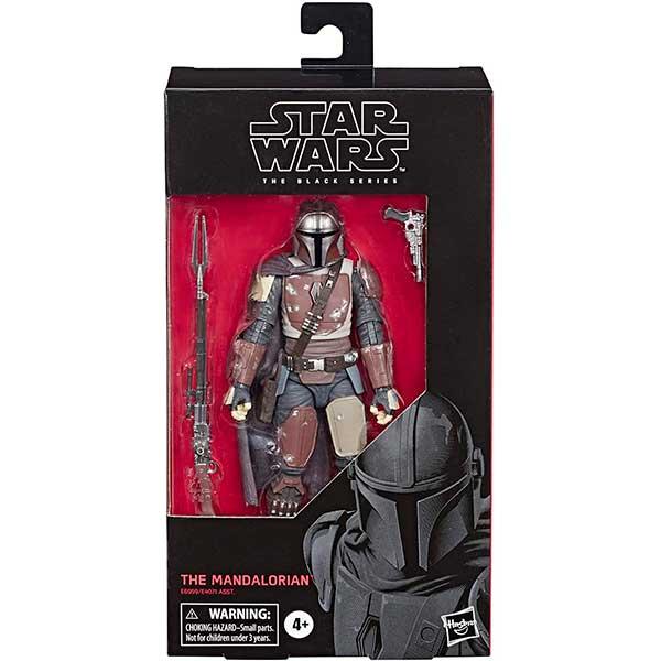 Star Wars Figura Mandalorian Black Series Deluxe 15cm - Imagen 1