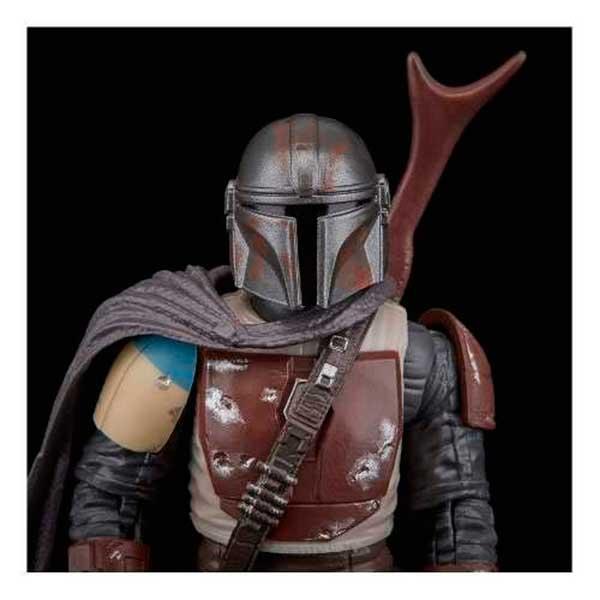 Star Wars Figura Mandalorian Black Series Deluxe 15cm - Imagen 2