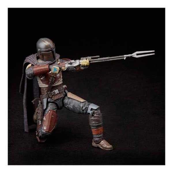 Star Wars Figura Mandalorian Black Series Deluxe 15cm - Imagen 3