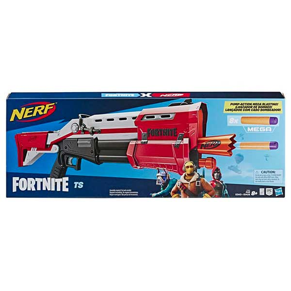 Nerf Fortnite Mega TS Blaster Lanzador - Imagen 1